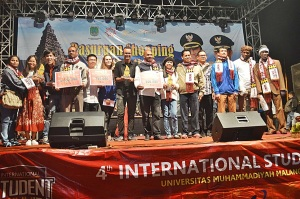 Ali Abdul Raof Juara 2 4th International Student Summit 2015 (2)