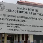 Bakti Sosial HMTK di Yayasan Sayap Ibu, Kalasan, Sleman